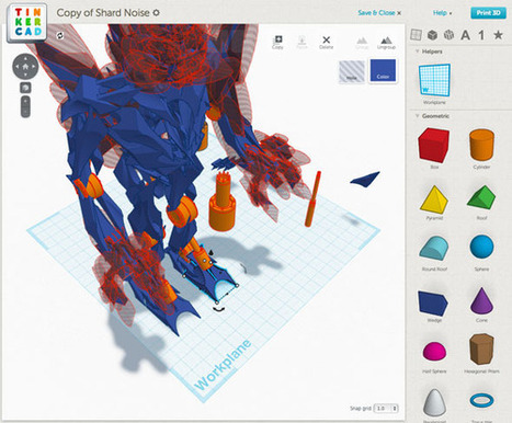 9 Apps To Easily Make 3D Printable Objects | Make - Hack - Play | Scoop.it