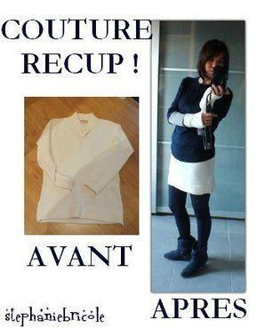 Idée couture récup : Comment découper un pull sans l'effilocher ... | Fait maison | Scoop.it