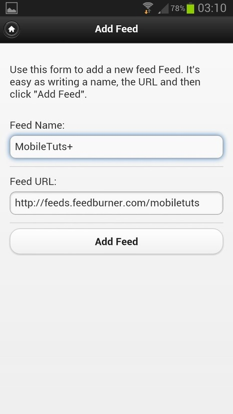 PhoneGap: Build a Feed Reader – Project Structure | jvs | Scoop.it