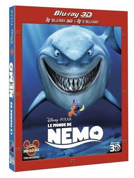 Le Monde de Nemo 3D : Détails des Blu-ray français - HD-Numérique | film hd | Scoop.it