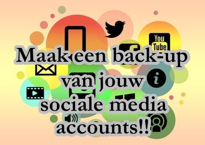 Edu-Curator: Hoe maak je een back-up van je berichten op je sociale media? | Educatief Internet - Gespot op 't Web | Scoop.it