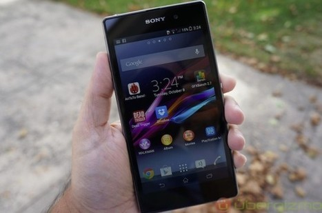 """Sony Xperia Z1.. touted to deliver a """"true compact camera performance"""" 