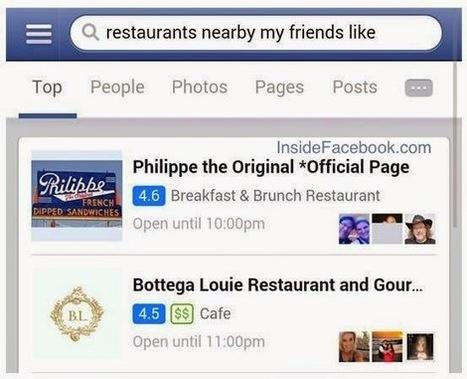 Le moteur Graph Search de Facebook actuellement en test sur mobile - #Arobasenet | Médias et réseaux sociaux | Scoop.it
