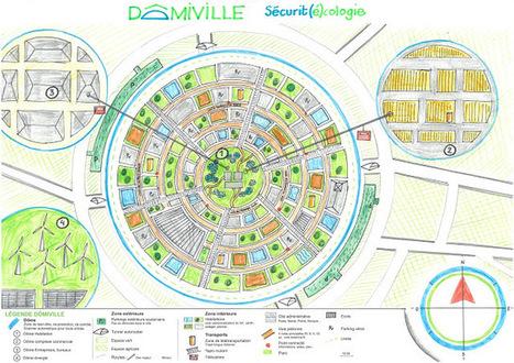 Habiter la ville de demain (Cartes des finalistes du Concours Carto Imaginaire Collège 2016) | Urbanisme | Scoop.it