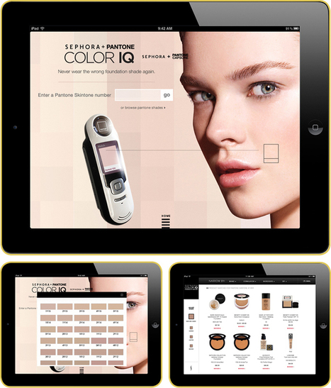 L'Oréal Paris Intelligent Color Experience | Connected commerce | Scoop.it