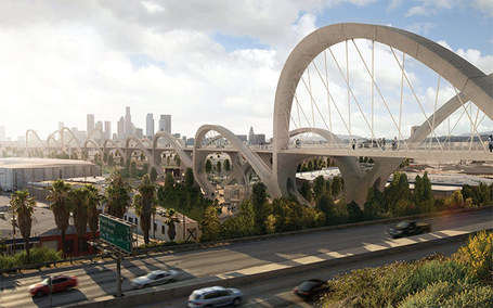 Visions of Sixth Street - plans for a new, pedestrian-friendly bridge in Los Angeles | Greener World | Scoop.it