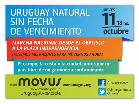 11/10/2012 Montevideo. Campo Ciudad y Costa marchan por un Uruguay Natural sin fecha de vencimiento. | MOVUS | Scoop.it