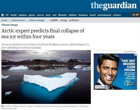 Inconvenient: Record Arctic Sea Ice Growth In September | Liberty Revolution | Scoop.it
