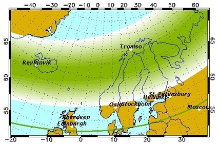 Aurora Forecast | Geophysical Institute | Hurtigruten Arctique Antarctique | Scoop.it