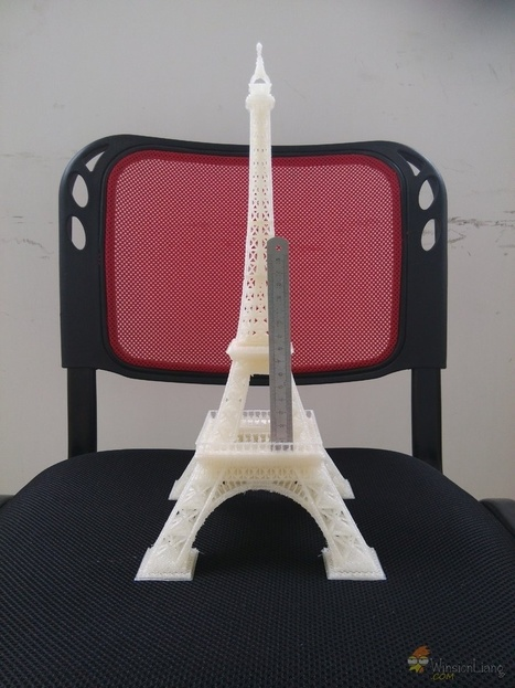 Huge delta 3d printer challenge Eiffel Tower model for test | Winsion | Scoop.it