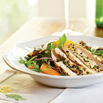 Arugula Salad with Chicken and Apricots | Chicken Recipes | Scoop.it