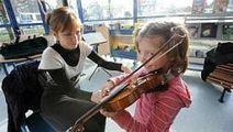 Au Chemin-Vert, des Mozart en herbe jouent leurs premières notes de musique | Musique en bibliothèque | Scoop.it