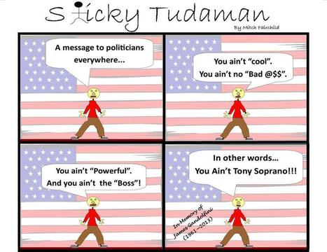 Sticky Tudaman On James Gandolfini | Political Humor | Scoop.it