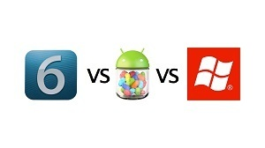 Apple iOS 6 Vs Google Jelly Bean Vs Microsoft Windows Phone 8 | Smart Media Tips | Scoop.it