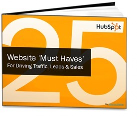 Free eBook: The 25 'Must Have's' of a Great Business Website | Time to Learn | Scoop.it