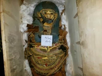 Luxor Times: A mummy was captured in Giza | Egyptology and Archaeology | Scoop.it