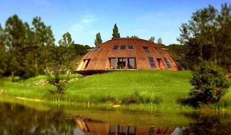Domespace : une maison en forme de dôme qui tourne avec le soleil   Efficycle   Scoop.it