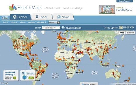 HealthMap | Global Health, Local Knowledge | mHealth: Patient Centered Care-Clinical Tools-Targeting Chronic Diseases | Scoop.it