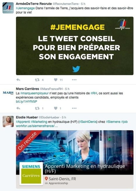Twitter : Mode d'emploi pour les RH ! - #rmsnews | The Kore ! | Scoop.it