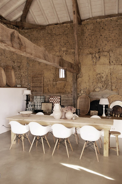 A CHARACTERFUL HOLIDAY HOME IN THE SOUTH OF FRANCE | THE STYLE FILES | Raw and Real Interior Design | Scoop.it