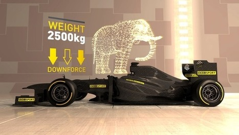 The car that could drive on the ceiling | Motorsport News | Scoop.it