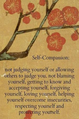 Twitter / SelfLoveNow: Self compassion, self acceptance ... | Living Mindfulness & Compassion | Scoop.it
