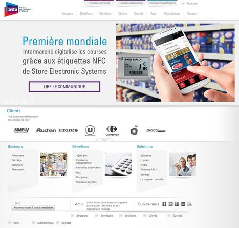 En France, la grande distribution réussie sa transformation numérique | Magasin digital et connecte | Scoop.it
