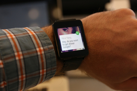 Hands On With The LG G Watch, Shipping July 7 For $229 U.S. | Internet of Things | Scoop.it