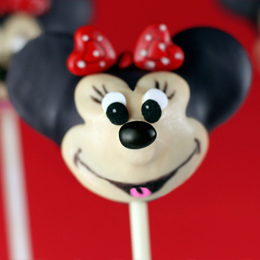 Minnie Mouse Cake Pops   Food   Disney Baking Recipes   Scoop.it