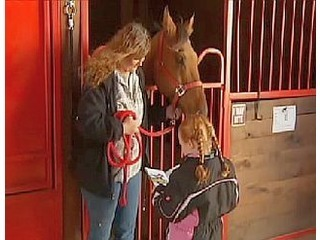 Horses Serve as Attentive Listeners to Student Readers | Horse & Rider - A Magical Connection | Scoop.it