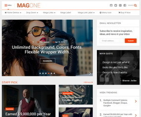 MagOne Blogger Template | Blogger Templates | Scoop.it
