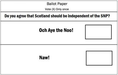 Do you agree that skewed questions are depressingly cynical? | Scottish Independence and a better future! | Scoop.it