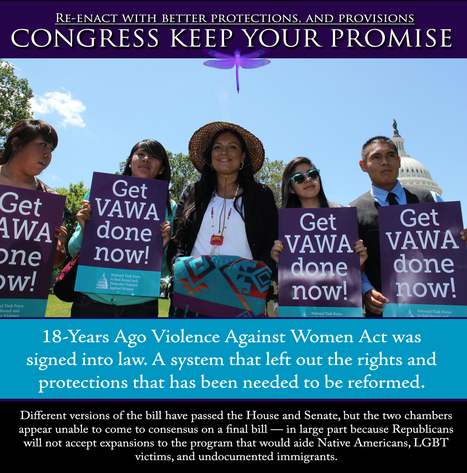 Reauthorize #VAWA with Tribal provisions | In Our Opinion - North Kitsap Herald - #idlenomore | IDLE NO MORE WISCONSIN | Scoop.it