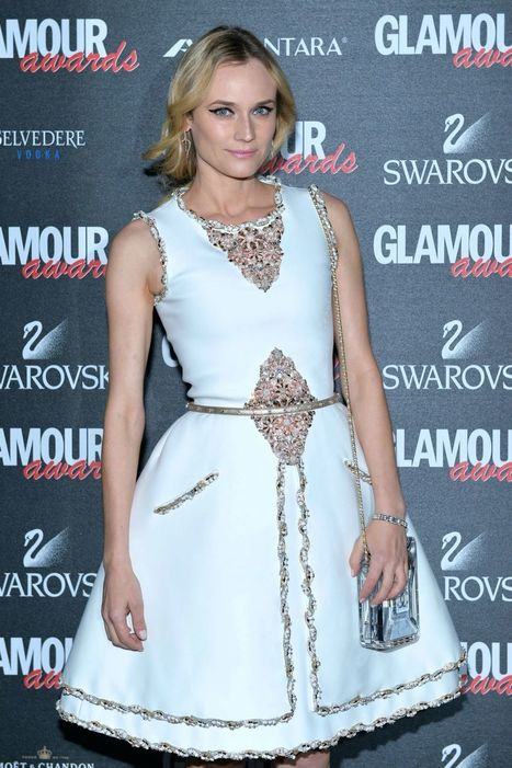 Diane Kruger wears Chanel Couture – 2014 Glamour Awards - FASHION SIZZLE BLOG | Fashions And Deals | Scoop.it