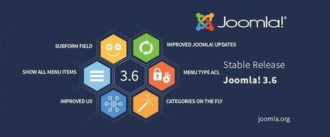 Joomla! 3.6 is Here | Holistic Marketing - Why Everything Matters | Scoop.it