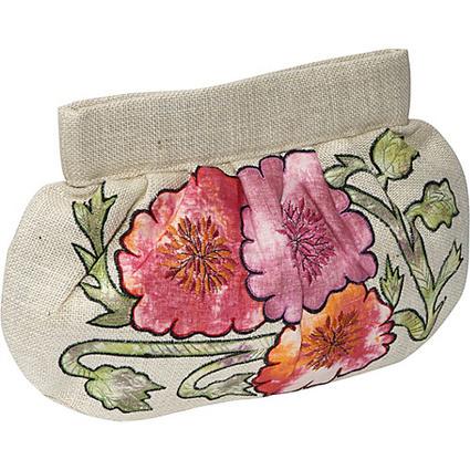Moyna Handbags Jute Applique Clutch - Clutch | I love designer handbags | Scoop.it