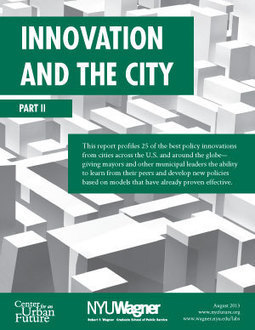 Innovation and the City, Part II   Center for an Urban Future   Urban Systems   Scoop.it