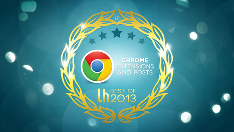 Most Popular Chrome Extensions and Posts of 2013 | Jewish Education Around the World | Scoop.it