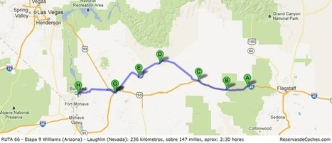 Etapa 9 Ruta 66: Williams (Arizona) – Laughlin (Nevada) | Ruta 66 | Scoop.it
