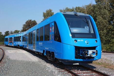 Alstom dévoile son train à hydrogène | Sous-traitance industrielle | Scoop.it