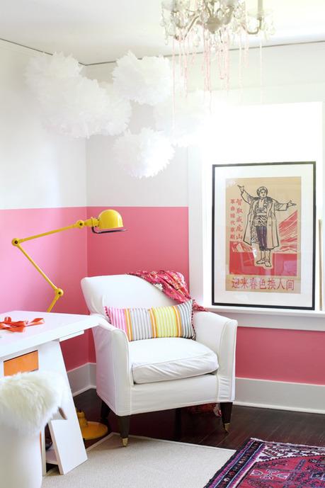 Un bureau anti-morosité aux couleurs estivales | DecoCrush blog déco, idées déco | décoration & déco | Scoop.it