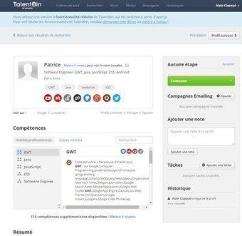 Recrutement : on recoupe vos compétences sur les forums et les réseaux sociaux | Compétences & Cie | Scoop.it