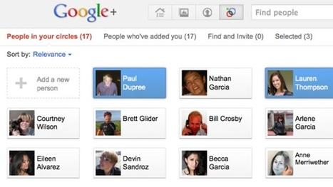 Google+ es la red social perfecta para reinventarte y comenzar de nuevo | Aprendizaje 2.0 | Scoop.it | Educación Matemática | Scoop.it