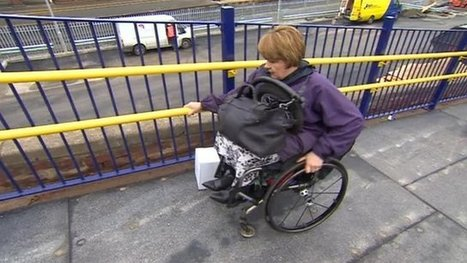 Baroness Tanni Grey-Thompson struggles at Eaglescliffe station - BBC News | Welfare, Disability, Politics and People's Right's | Scoop.it