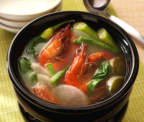 Sinigang Na Hipon Filipino Recipe   Filipino Foods And Recipes - Pinoy foods at its finest.   Filipino Pleasures   Scoop.it