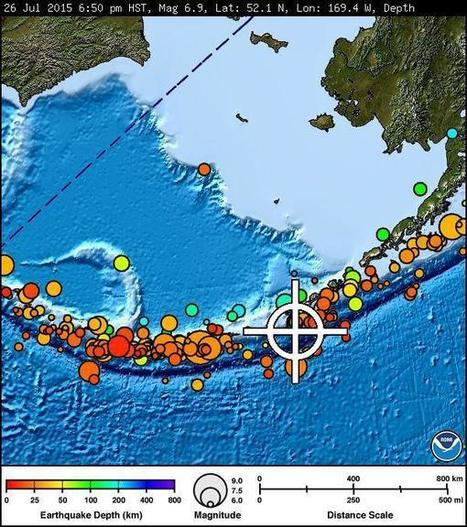 M6.9 earthquake strikes Alaska, NO tsunami threat | Chronique d'un pays où il ne se passe rien... ou presque ! | Scoop.it