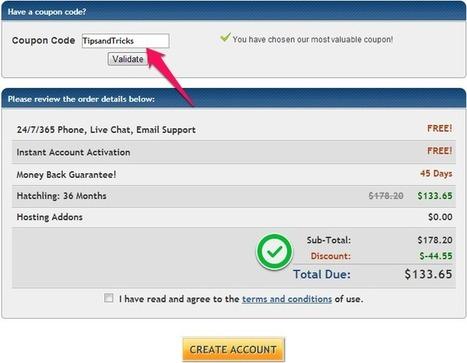 HostGator Coupon Codes (Updated) → Get Maximum Discount | HostGator Coupon Max Discount | Scoop.it