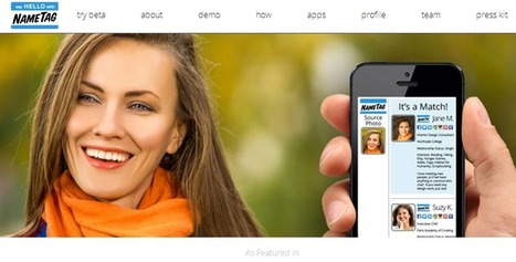 Nametag : l'application pour connaître l'identité d'inconnus croisés dans la rue | Protéger son eRéputation | Scoop.it