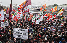 Crackdown or Negotiation? Russian Protests Pose a Dilemma for Putin | Coveting Freedom | Scoop.it