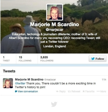 New Twitter Board Member Has Used Twitter – Once | Real Estate Plus+ Daily News | Scoop.it
